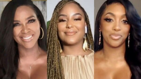 """RHOA's Kenya Moore Accused of Being """"Jealous"""" of LaToya Ali's Friendship With Porsha Williams as Kenya Slams LaToya as """"Deceitful"""" and Says She Can't Be Trusted"""