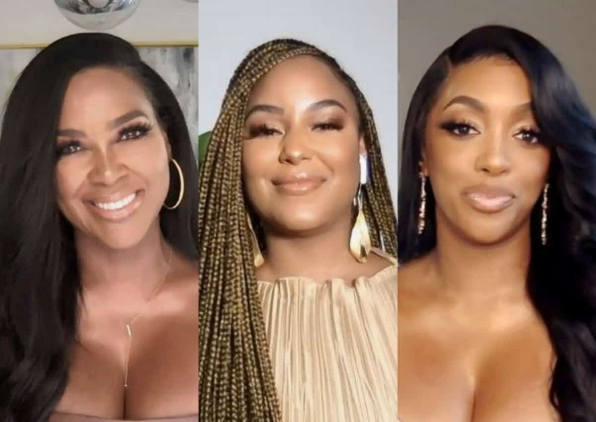 "RHOA's Kenya Moore Accused of Being ""Jealous"" of LaToya Ali's Friendship With Porsha Williams as Kenya Slams LaToya as ""Deceitful"" and Says She Can't Be Trusted"