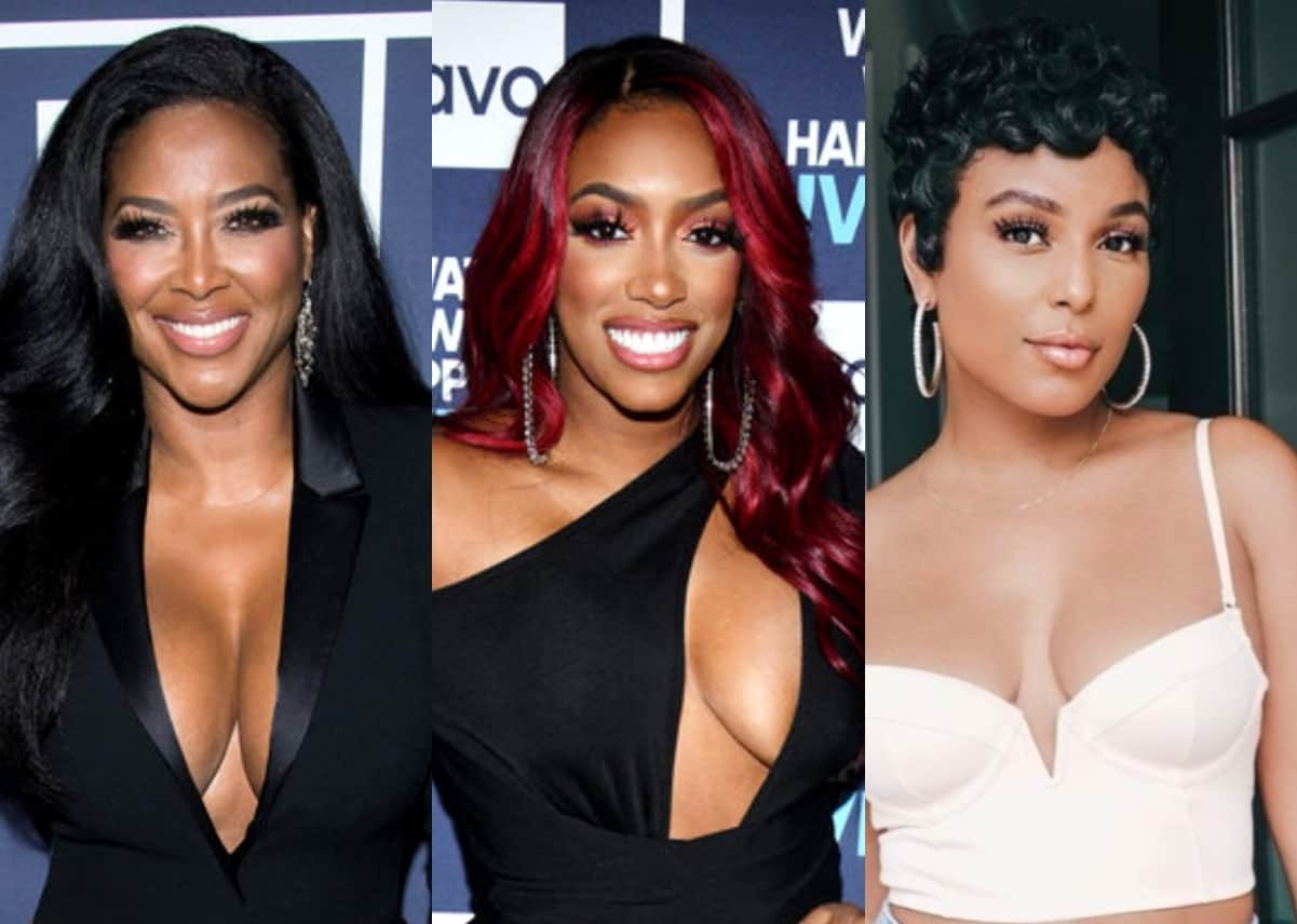 """Kenya Moore Calls Out """"Married"""" RHOA Costars For Engaging in """"Freak Show"""" and Claims Porsha Acts Fake on Camera, Reacts to Tanya Quitting After Strippergate and Says LaToya """"Turned [Her] Off, Plus Live Viewing Thread"""