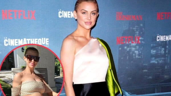 PHOTO: Vanderpump Rules' Lala Kent Welcomes Baby Girl With Fiancé Randall Emmett Weeks Before Due Date, See the First Pic of Ocean Kent Emmett as Cast Reacts