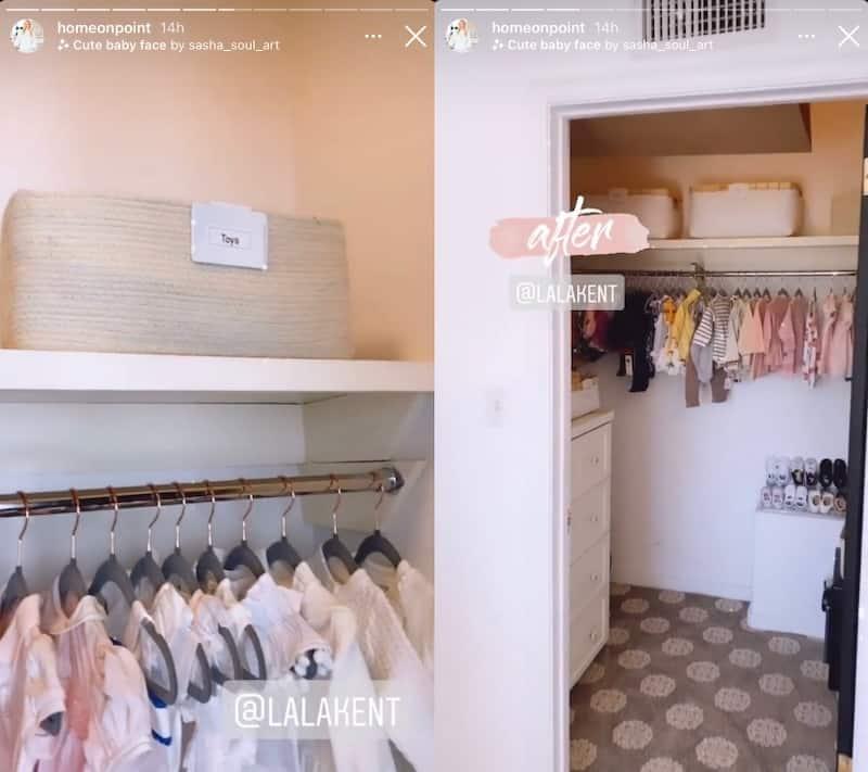 Vanderpump Rules Lala Kent Daughter Closet