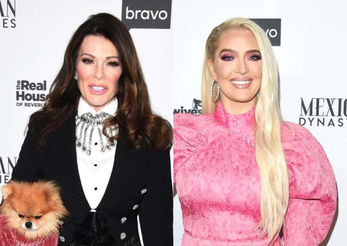 """Lisa Vanderpump Slams Erika Jayne's $40,000 Glam Budget and 'Feels Bad' for the """"Victims"""" Amid Legal Drama, Wants Apology From Kyle and Talks Kathy Hilton's Addition to RHOBH, Plus Pump Rules Baby Boom"""