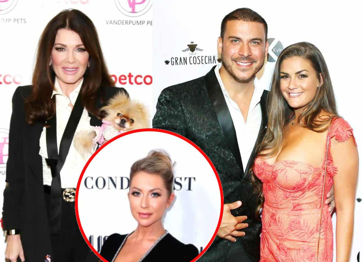 """Lisa Vanderpump Hints Jax Taylor and Brittany Cartwright Were Fired From Vanderpump Rules and Reveals What Happened After She Reached Out to Stassi Schroeder a """"Couple of Times"""""""
