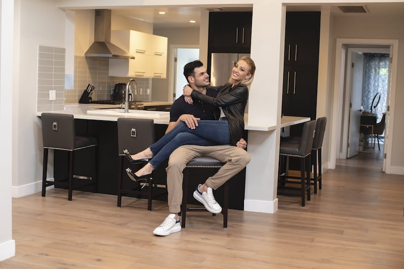 Selling Sunset Mary Fitzgerald and Romain Bonnet Enjoy Valley Village Rental