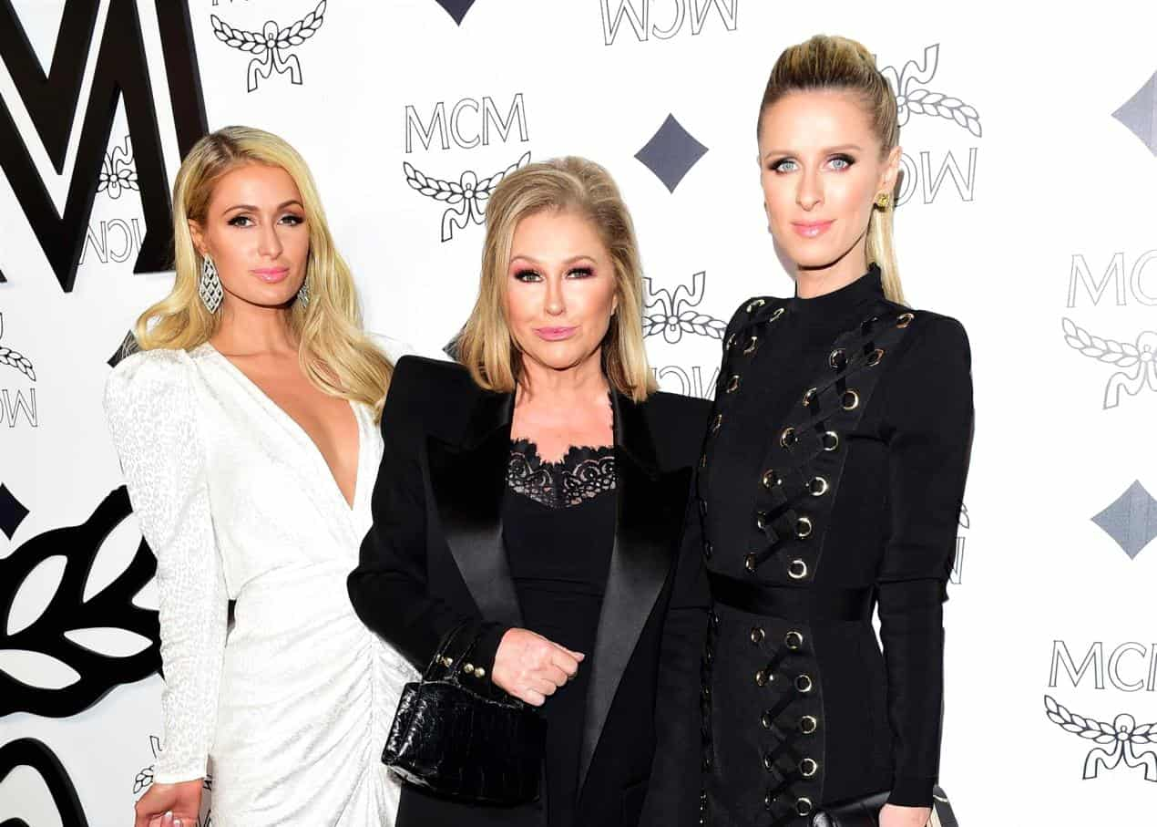 """Kathy Hilton on Why She Stopped Watching RHOBH, Explains Why She Finally Joined Show and Shares Advice Kim Richards Gave Her, Plus Talks """"Avoiding"""" Daughters Paris and Nicky Hilton"""