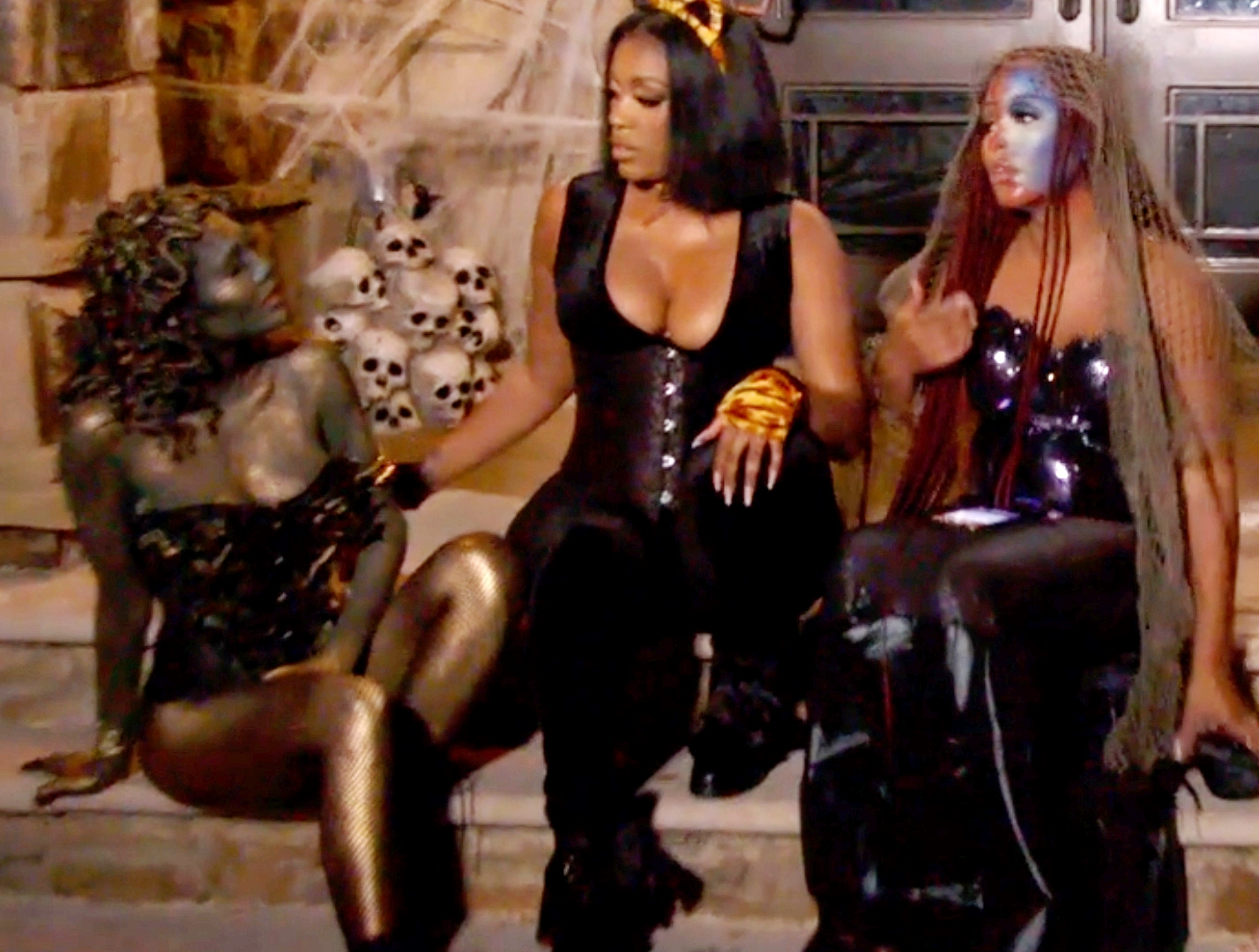 RHOA Recap: Kenya Confronts LaToya For Telling Her Business, Halloween Party Turns Chaotic As Falynn And Latoya Fight
