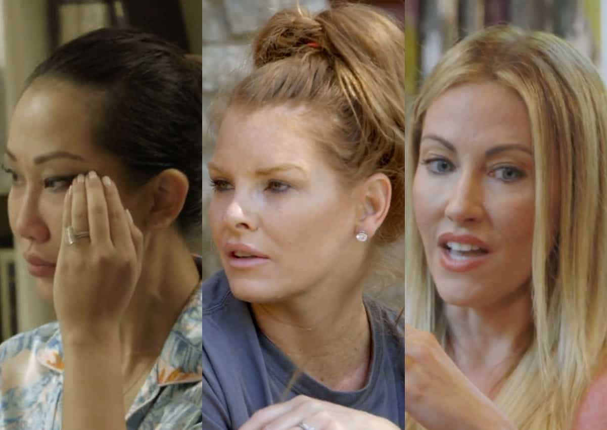 RHOD Recap: Tiffany Cries As Brandi Struggles To Move Forward With Her, Stephanie Opens Up About Depression and Anxiety; Plus Will A Shaman Help the Ladies Come Together?