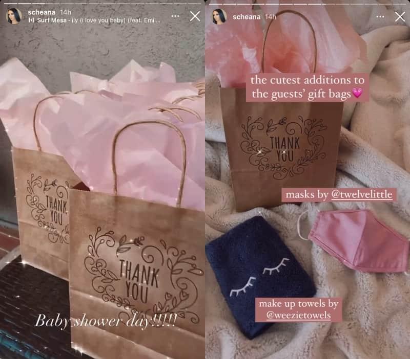 Vanderpump Rules Scheana Shay Gift Bags