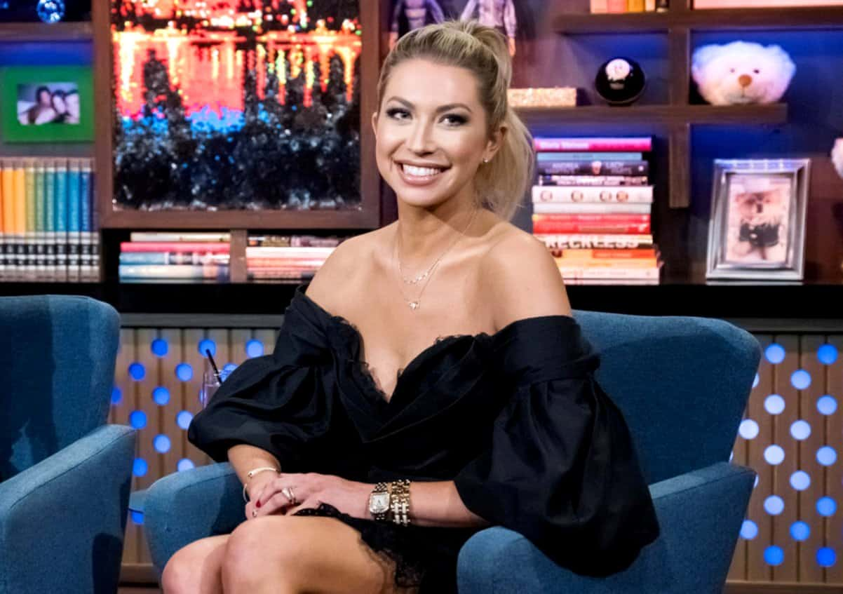 """Stassi Schroeder On Being """"Apprehensive"""" About Racism Talk, Shares When She Found Out She Was Pregnant And How VanderPump Rules Firing Ruined Gender Reveal, Plus She Shades Jax Taylor"""