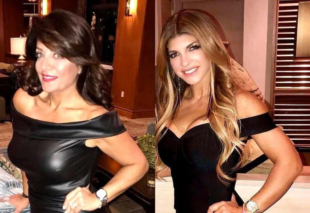 """Kathy Wakile Discusses The Shocking Last Scene She Ever Filmed On RHONJ As She Shades Teresa Giudice And Admits She'd Like To Tell Her To """"F*ck Off"""""""
