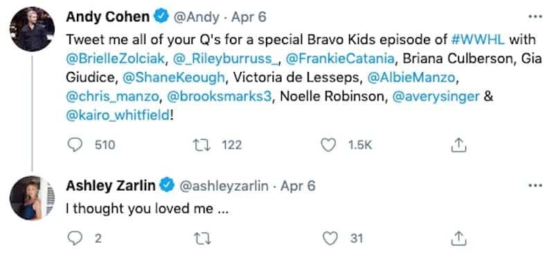 RHOC Ashley Zarlin Reacts to Bravo Kids Special