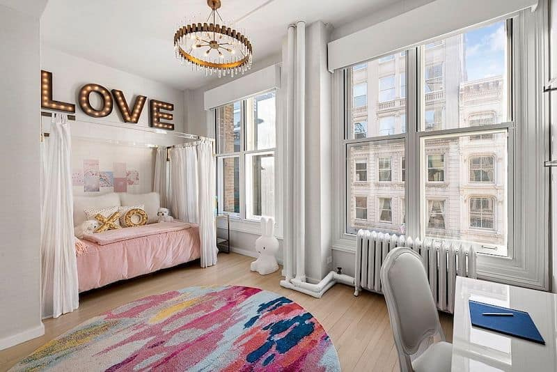 RHONY Bethenny Frankel NYC Apartment Bedroom