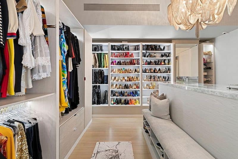 RHONY Bethenny Frankel NYC Apartment Closet