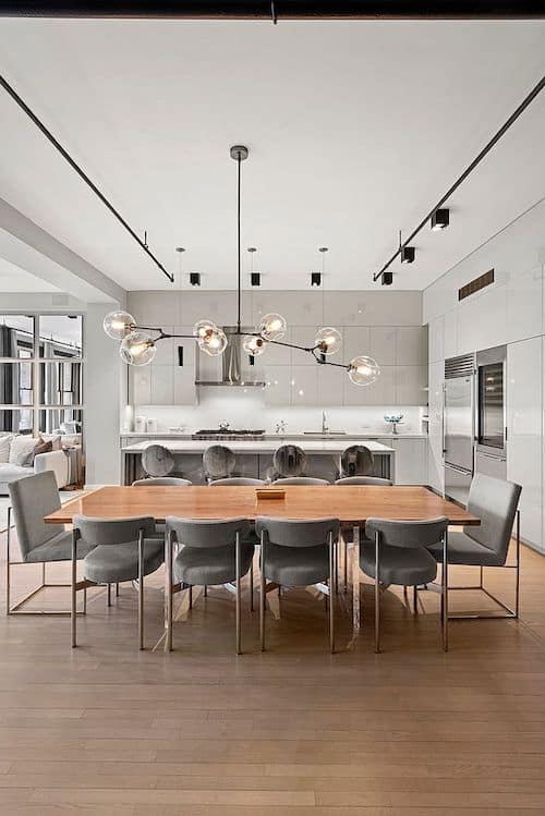RHONY Bethenny Frankel NYC Apartment Kitchen
