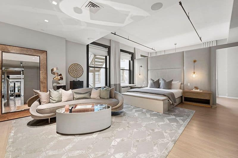 RHONY Bethenny Frankel NYC Apartment Master Bedroom