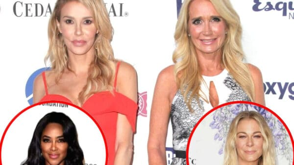 "Brandi Glanville Believes Her ""Housewives Days Are Done,"" Confirms She's No Longer Speaking to Kim Richards And Reacts to Kathy Hilton's Addition to RHOBH, Plus Dishes On ""Diva-Ness"" Of Kenya Moore And Offers Update On Leann Rimes"