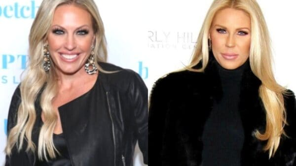 "Braunwyn Windham-Burke Slams ""Uneducated"" Gretchen Rossi After RHOC Alum Calls Braunwyn's Sexuality ""Inauthentic,"" Plus Gretchen Disses Show as ""Toxic"""