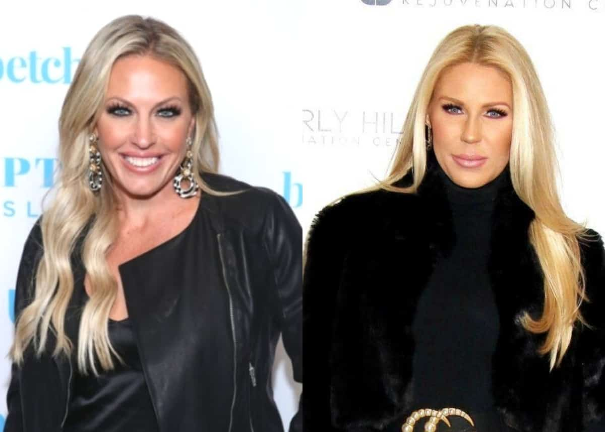 """Braunwyn Windham-Burke Slams """"Uneducated"""" Gretchen Rossi After RHOC Alum Calls Braunwyn's Sexuality """"Inauthentic,"""" Plus Gretchen Disses Show as """"Toxic"""""""