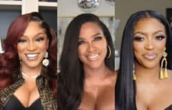 "RHOA's Drew Sidora Tells Kenya Moore to ""Shut the F--k Up"" After Kenya Calls Her a ""Nut Job"" and ""Pathological Liar,"" Plus Kenya Disses Her and Porsha as ""Disrespectful and Inconsiderate"" for Being Late"