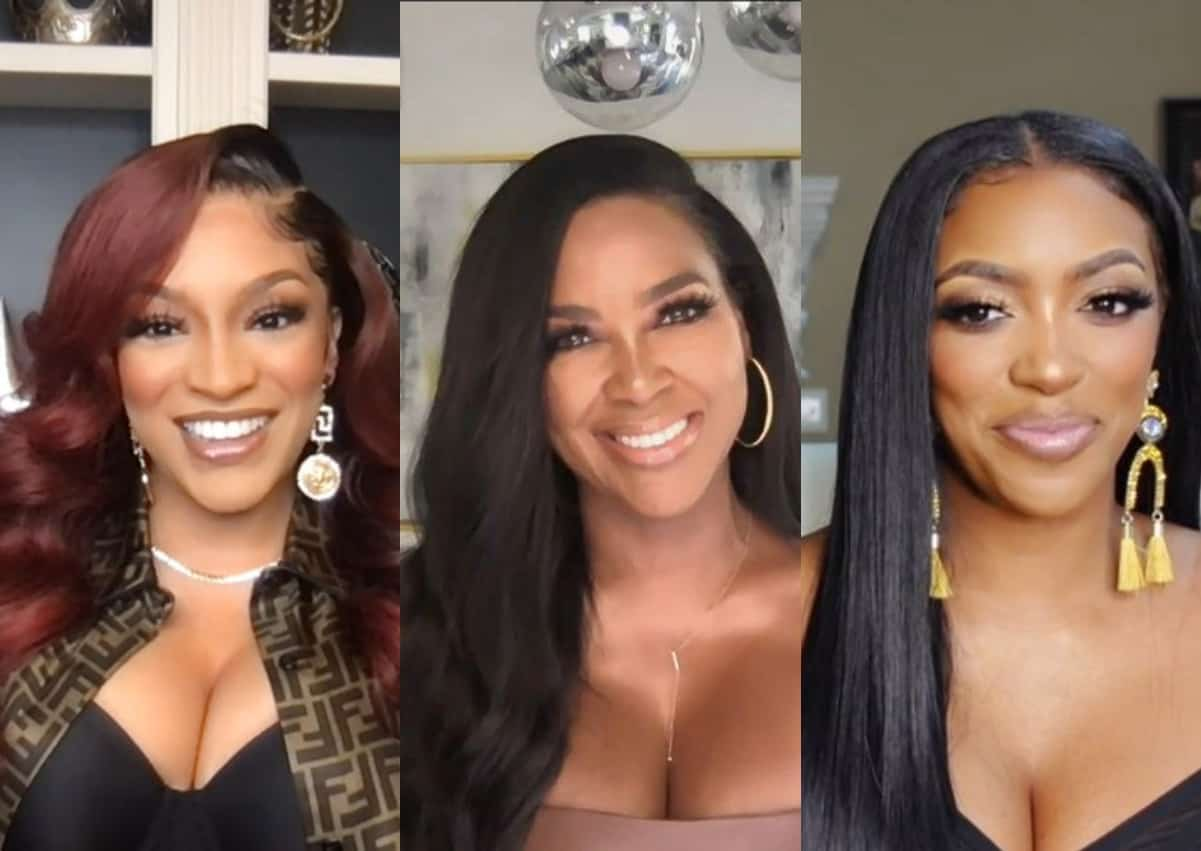 """RHOA's Drew Sidora Tells Kenya Moore to """"Shut the F--k Up"""" After Kenya Calls Her a """"Nut Job"""" and """"Pathological Liar,"""" Plus Kenya Disses Her and Porsha as """"Disrespectful and Inconsiderate"""" for Being Late"""