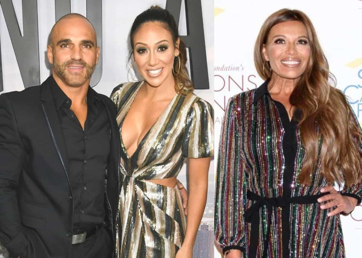 RHONJ's Melissa Gorga Slams Husband Joe for Being 'Rough' on Dolores Catania As He Doubles Down on Hurtful Comment, Plus Frank Catania and Jackie Goldschneider Weigh In