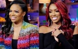 "Kandi Burruss Reacts to Porsha Williams' Instagram Live About Deleted RHOA Scene, Admits She's ""Confused"" About Where They Stand, Plus Live Viewing Thread"