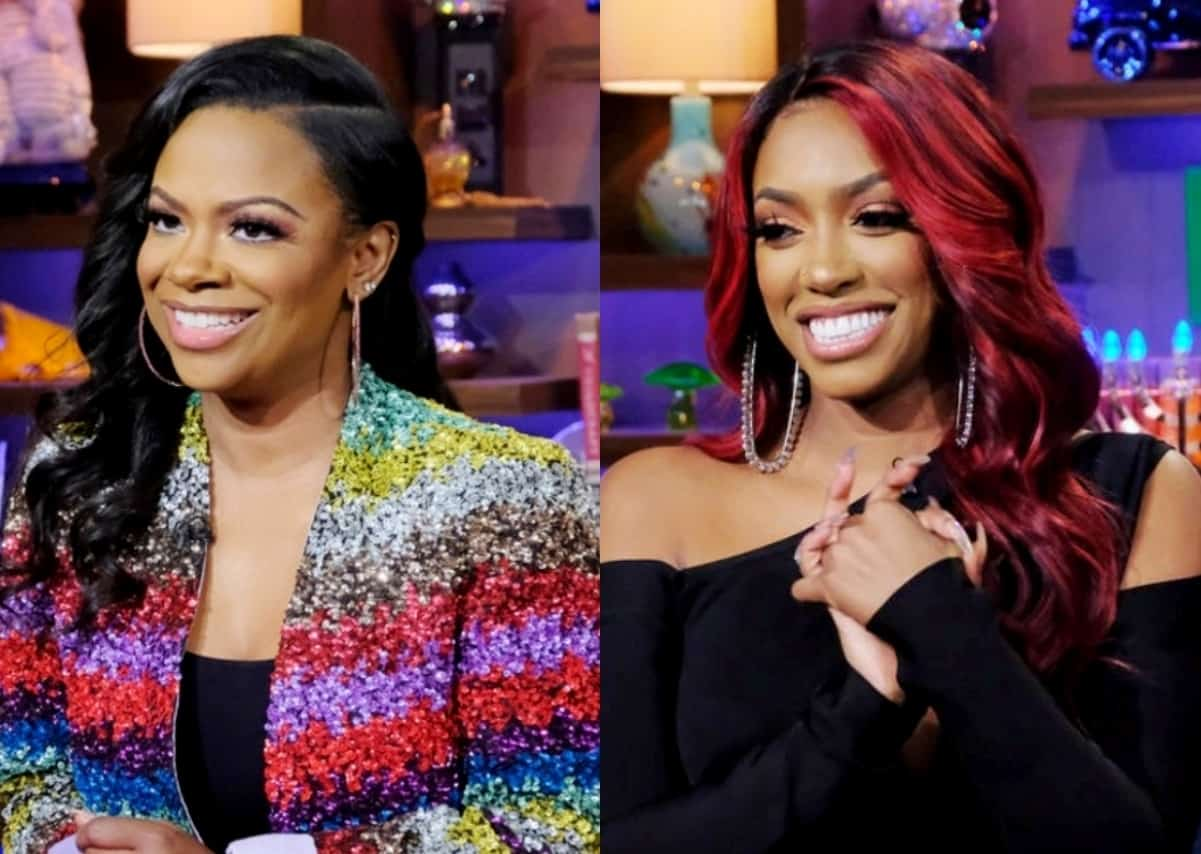 "RHOA's Kandi Burruss Reacts to Porsha Williams' Instagram Live About Deleted Season 13 Scene, Admits She Doesn't Know Where They Stand and Feels ""Confused"""