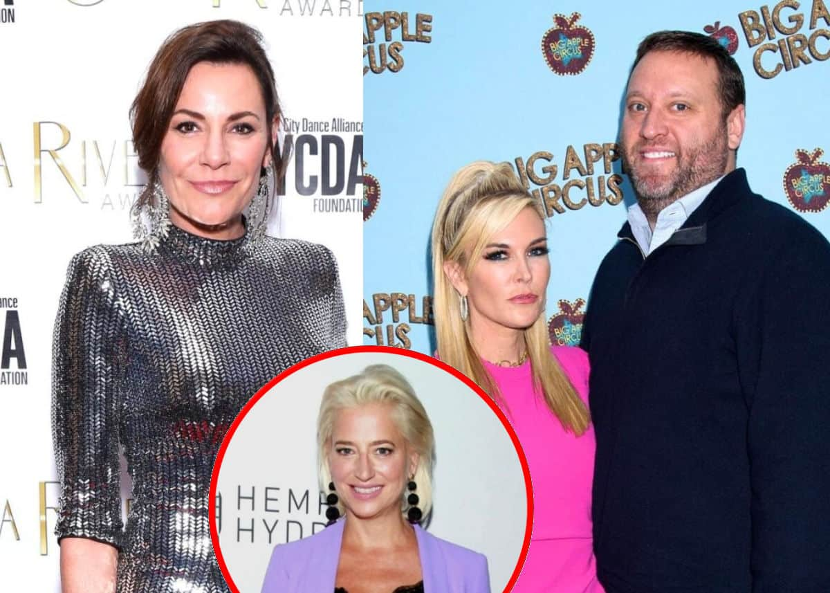 """RHONY's Luann de Lesseps Reacts to Tinsley Mortimer and Scott Kluth's Split, Admits She Suspected it """"Wouldn't Work Out,"""" and Says the Show Was """"Less Angry"""" After Dorinda Medley's Exit"""