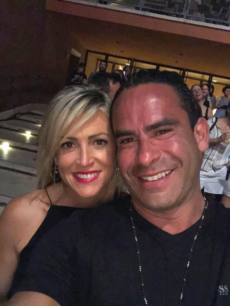 Luis Ruelas and Vanessa Reiser
