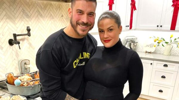 """PHOTO: Jax Taylor Welcomes Son With Wife Brittany Cartwright, See the First Pic of Ex Vanderpump Rules Stars' Baby Boy and Learn His Name as Jax Admits to Falling in Love With Brittany """"All Over Again"""""""