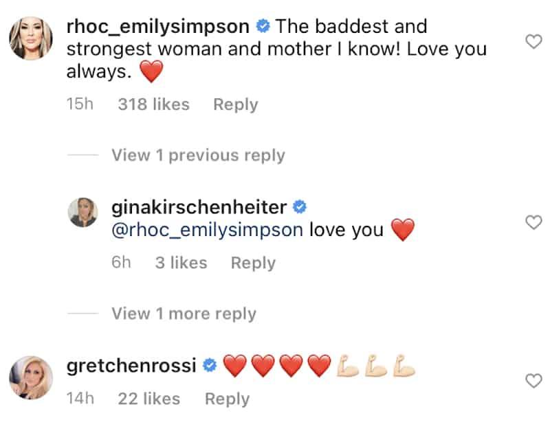 RHOC Stars React to Gina Kirschenheiter's Post Court Appearance StatementRHOC Stars React to Gina Kirschenheiter's Post Court Appearance Statement