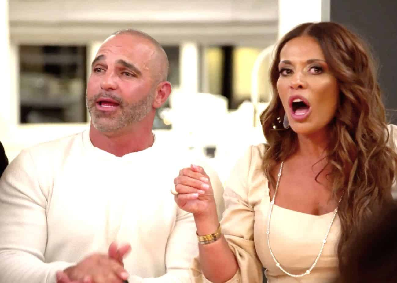 """RHONJ Recap: Joe Gorga Calls Dolores a """"Broken Woman"""" as She Storms Out of Michelle's Party After Everyone Attacks Her Relationship With David"""