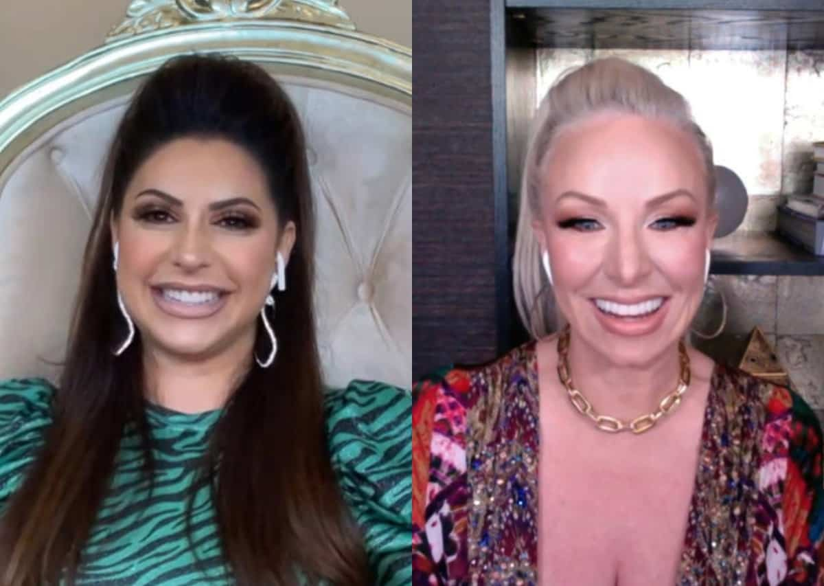 Jennifer Aydin Talks Being A Fan of RHONJ Before Joining Show And Questions Why Margaret Josephs Was Cast on Show