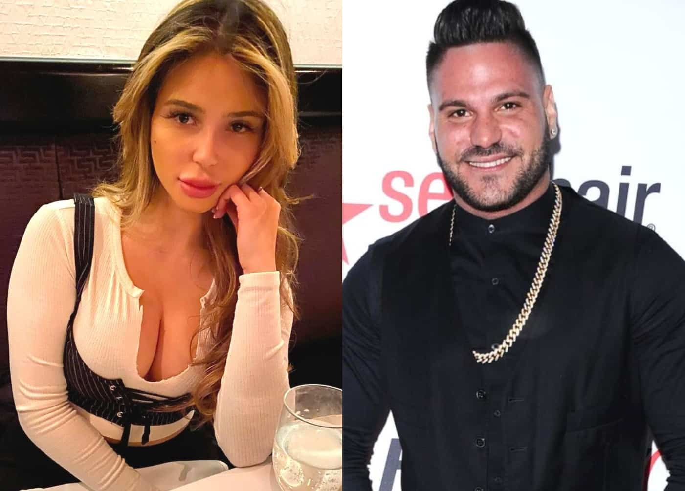 REPORT: Ronnie Ortiz-Magro's Girlfriend Saffire Called Cops on Him Before His Arrest, Cops Saw 'Visible Marks' on Her in Jersey Shore's Star Alleged Domestic Violence Incident