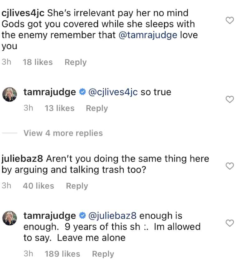 RHOC Tamra Judge Slams Gretchen Rossi as Irrelevant