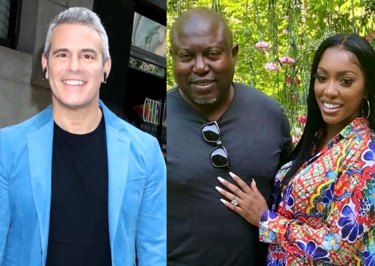 """Andy Cohen Reacts to RHOA Star Porsha Williams' Engagement to Costar Falynn's Ex Simon, Admits It's """"Wild"""" and """"Can't Wait"""" to Hear More, Plus Simon Offers Monetary Reward for Proof of Cheating"""