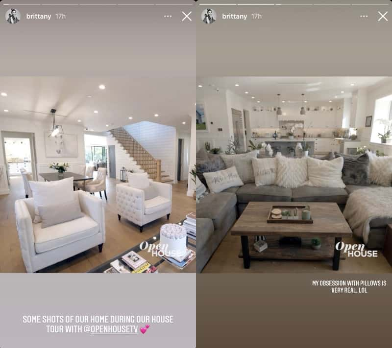 Vanderpump Rules Brittany Cartwright Shares Photos of L.A. Home