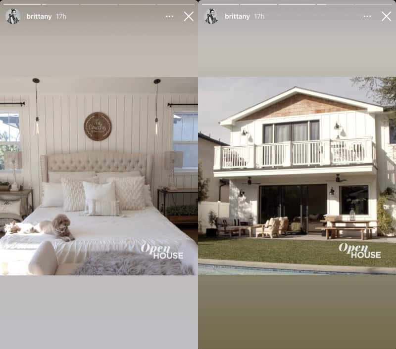 Vanderpump Rules Brittany Cartwright Shares Photos of Los Angeles Home