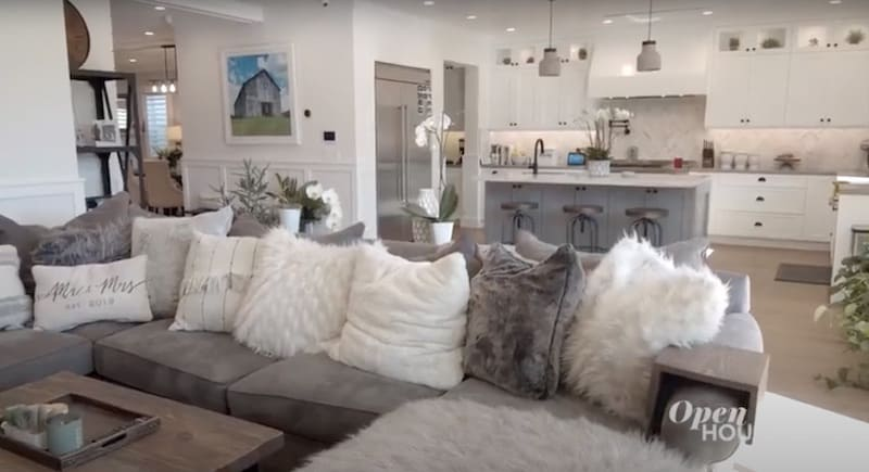 Vanderpump Rules Brittany Cartwright Shows Off Living Room Pillows