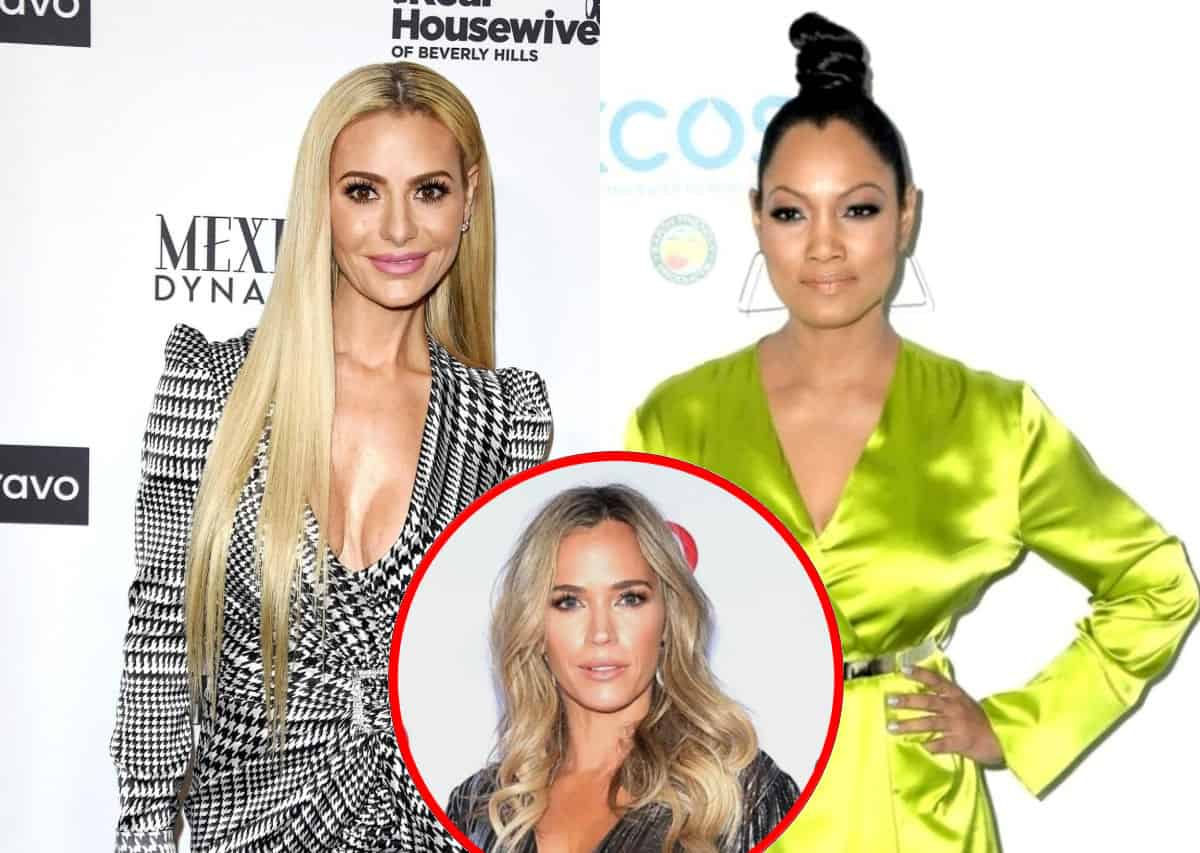 RHOBH's Dorit Kemsley Fires Back at Garcelle Beauvais' Acting Claim, Talks Sutton Stracke's Full-Time Role and Where She Stands With Teddi Mellencamp