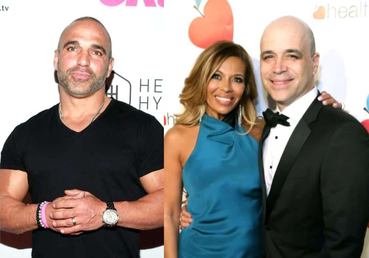"""RHONJ's Joe Gorga Retracts His Words After Dolores Catania's """"Unbelievable"""" Boyfriend Dr. David Principe Cares for Him Amid Kidney Stones as Dolores Reveals What Joe Told Him After the Health Scare"""