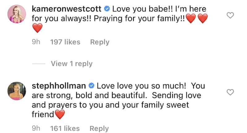 RHOD Kameron Westcott and Stephanie Hollman React to Kary Brittingham Divorce
