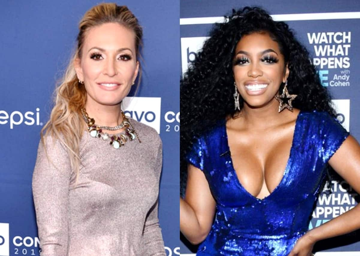 """Kate Chastain Slams Porsha Williams as an """"Actress"""" and """"Very Calculated,"""" Suggests She's Lying About Simon Guobadia Relationship, Plus Suspects Porsha is Quitting RHOA in Lieu of a Spinoff"""