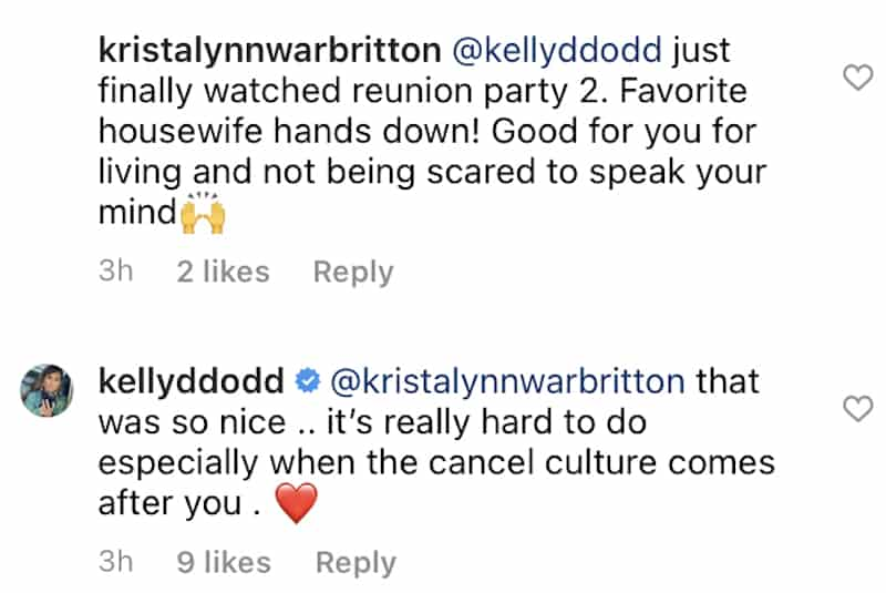 RHOC Kelly Dodd Says Cancel Culture Came After Her