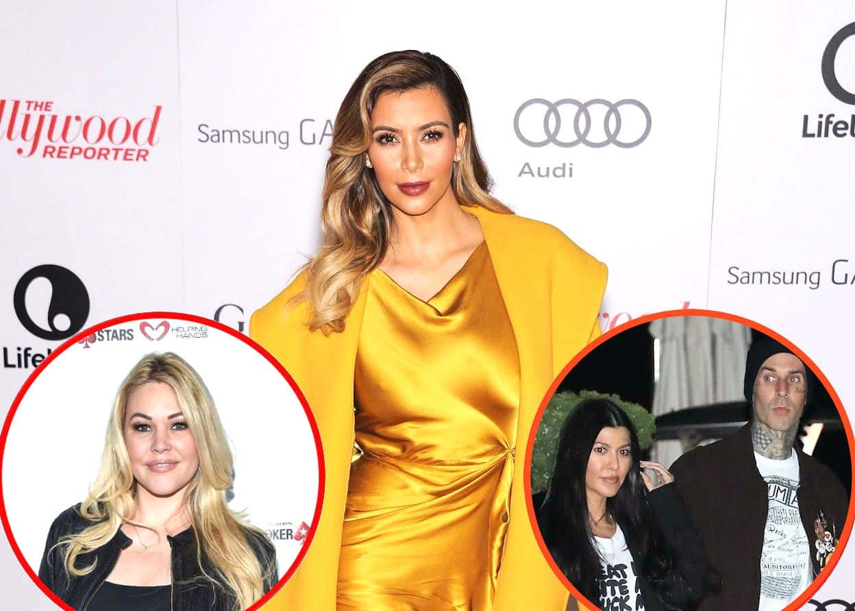 KUWTK: Kim Kardashian Breaks Silence On Alleged Affair With Travis Barker as Travis' Ex-Wife Shanna Moakler Claims Kim and Kourtney Destroyed Her Family