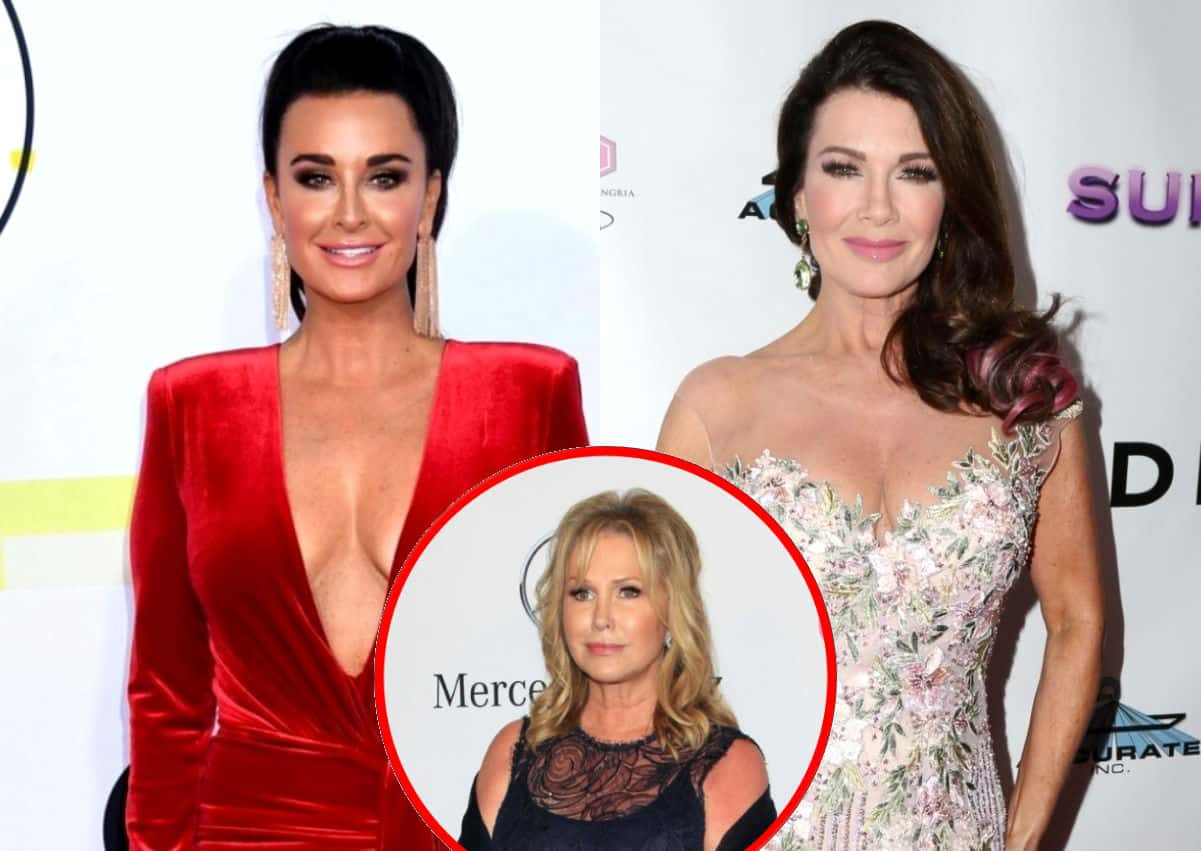 Kyle Richards Reacts to Lisa Vanderpump's Nose Job Diss and Claims Former RHOBH Costar Still Watches Show, Plus Kyle Talks Tense Moment With Kathy Hilton