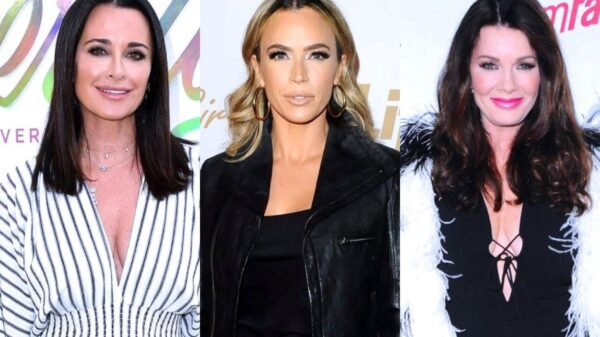 """RHOBH's Kyle Richards and Teddi Mellencamp Shade Lisa Vanderpump as Kyle Claims Lisa Was """"Embarrassed"""" by Dinner Bill Drama and Calls Her Out For Quitting Show, Plus Kyle Talks """"Fake Moments"""" and Housewives All Stars"""
