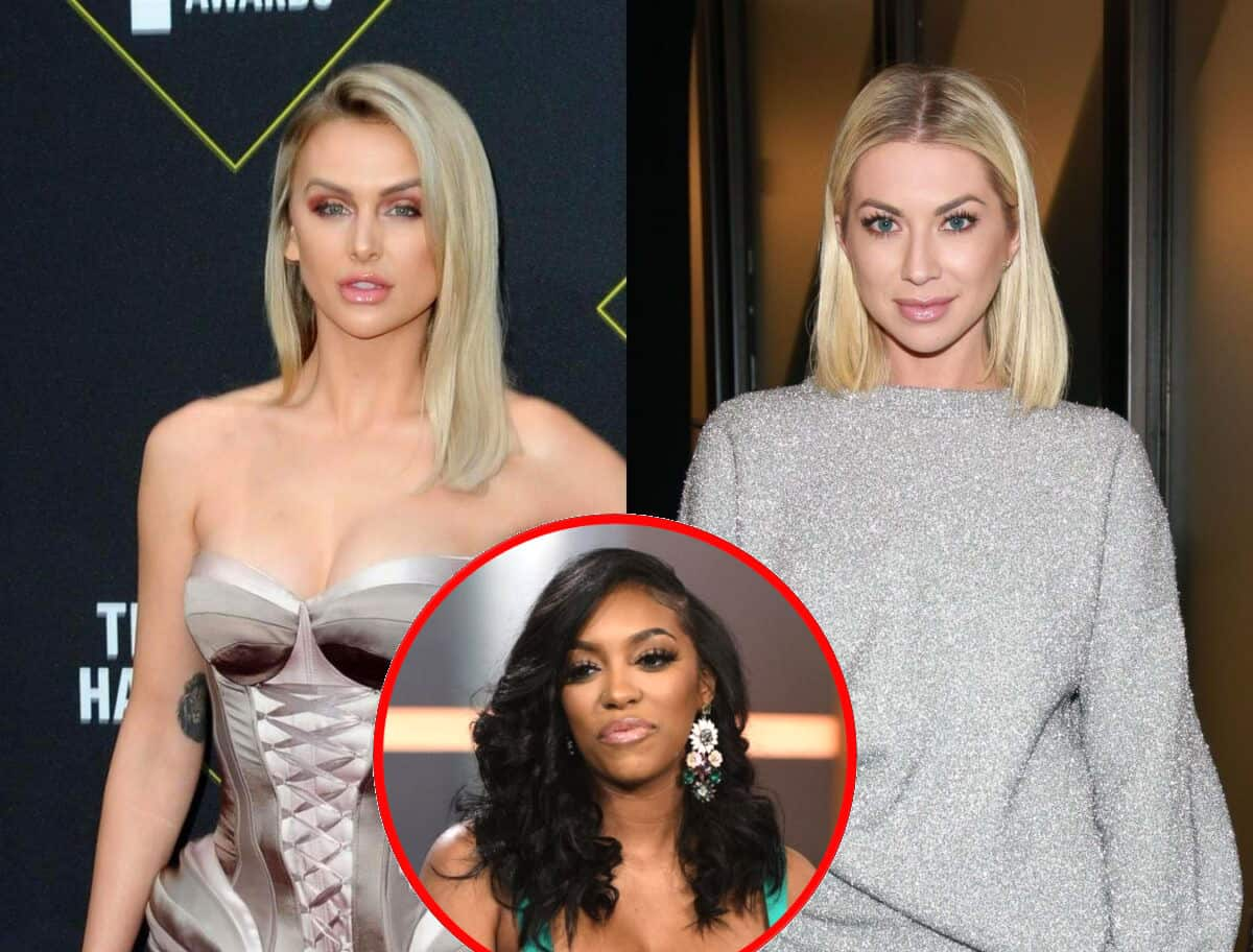 """Lala Kent Wishes Bravo Used Stassi Schroeder's Racism Scandal as a """"Teachable Moment"""" on Vanderump Rules, Reacts to Jax Taylor's Potential HGTV Show, and Shares Her Thoughts on Porsha Williams' Engagement"""