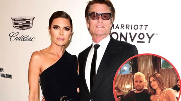 "REPORT: Are Lisa Rinna And Harry Hamlin Fed Up With Daughter Amelia Hamlin's Relationship With Scott Disick? Source Claims RHOBH Couple Are Afraid Scott Will ""Ruin"" Their Model Daughter"