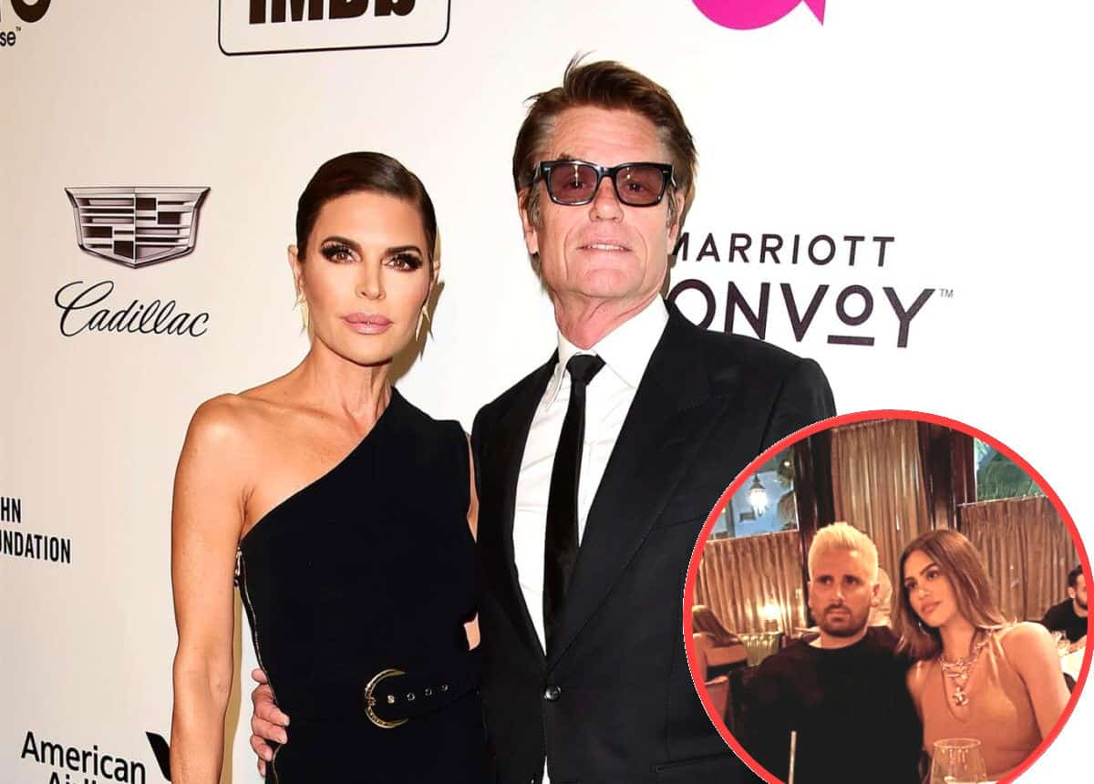"""REPORT: Are Lisa Rinna And Harry Hamlin Fed Up With Daughter Amelia Hamlin's Relationship With Scott Disick? Source Claims RHOBH Couple Are Afraid Scott Will """"Ruin"""" Their Model Daughter"""